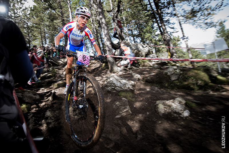 Ирина Калентьева, Andorra, Vallnord. Cross-Country World Championships 2015