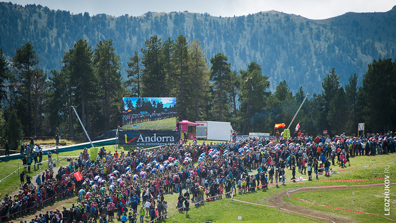 Andorra, Vallnord. Cross-Country World Championships 2015