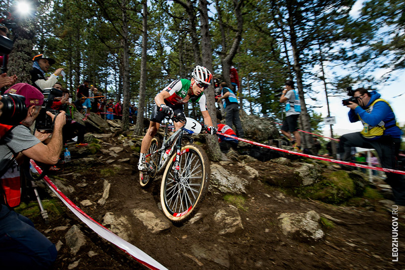 Nino Schurter, Andorra, Vallnord. Cross-Country World Championships 2015