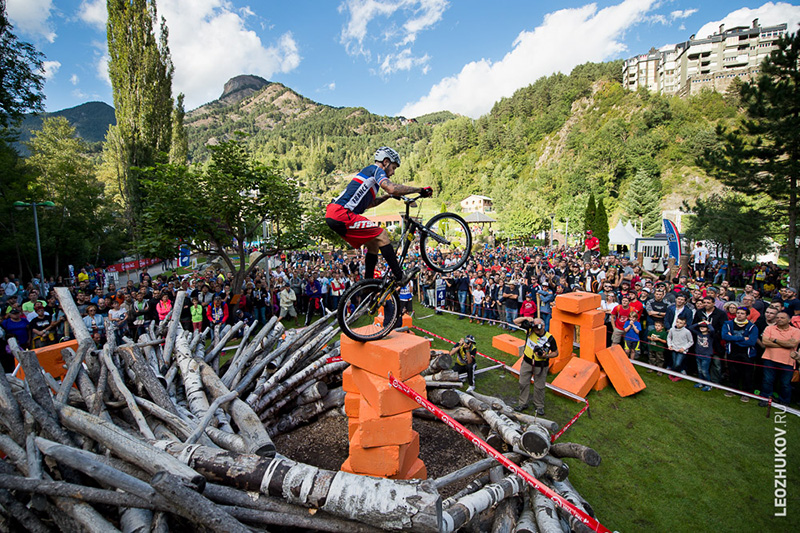 Andorra, La Massana. Trials World Championships 2015